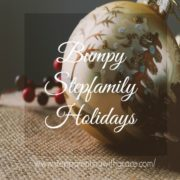 Gayla Grace sharing ways to get through the bumpy holidays as a stepfamily
