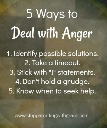 5 steps to dealing with anger by Gayla Grace
