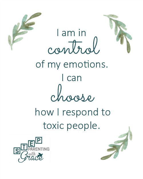 Finding Positive Ways to Cope with Toxic People